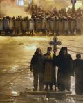 Отец Мелхиседек. На разделительной линии. Киев, январь 2014 г.