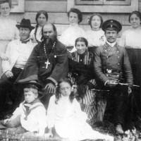 Семья Зариных. Фотография начала XX века