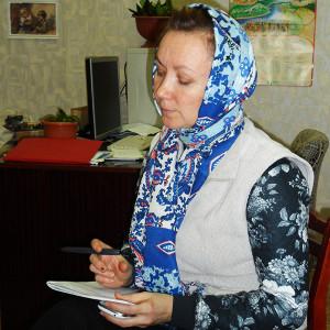 Староста Людмила Савельева