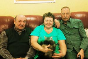 В.Николаев в гостях у семьи Сизевых