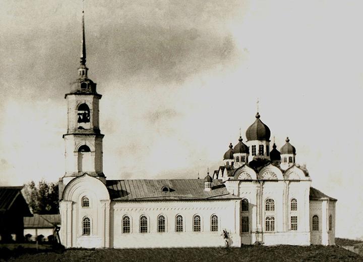 Лойма, храм в начале 20 века