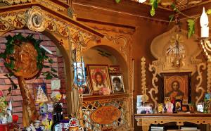 Уголок с иконами в доме