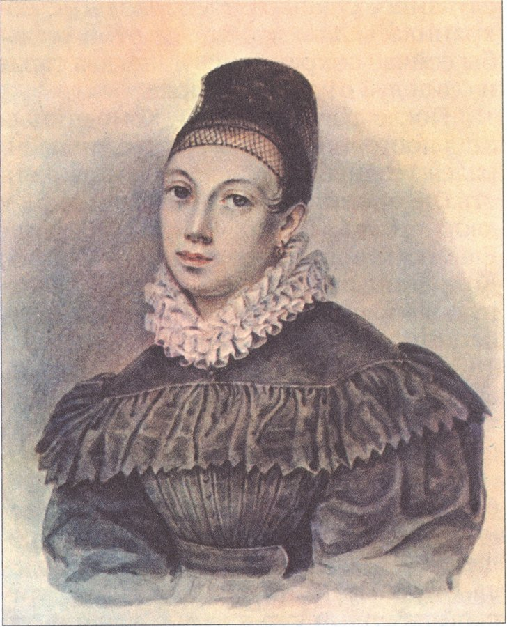 Елизавета Нарышкина, жена декабриста