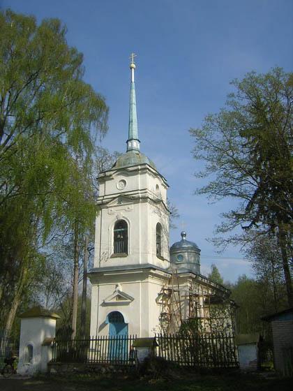 Покровский храм в Кярово