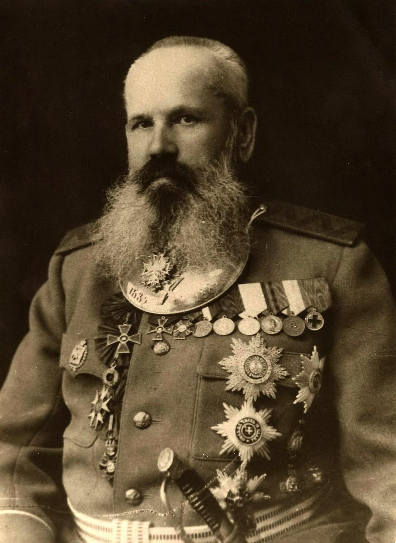 Генерал артиллерии Тимофей Михайлович Беляев