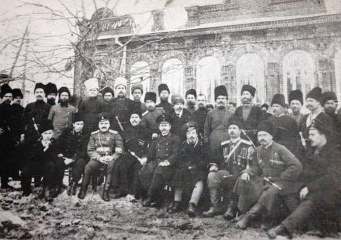 Казаки станицы Ильская