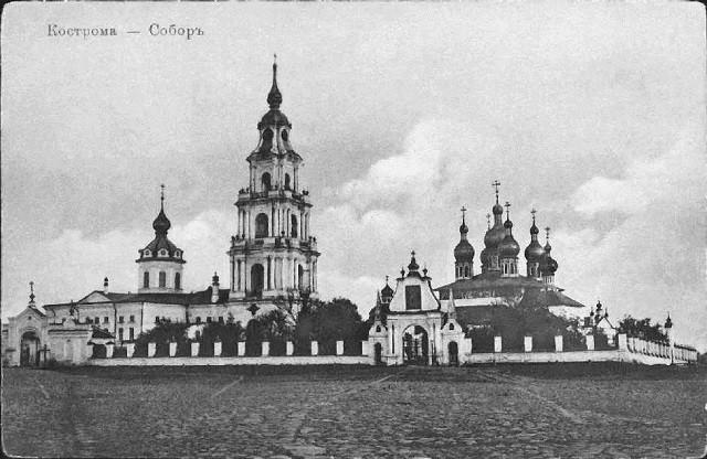 Так выглядел Костромской кремль до его разрушения