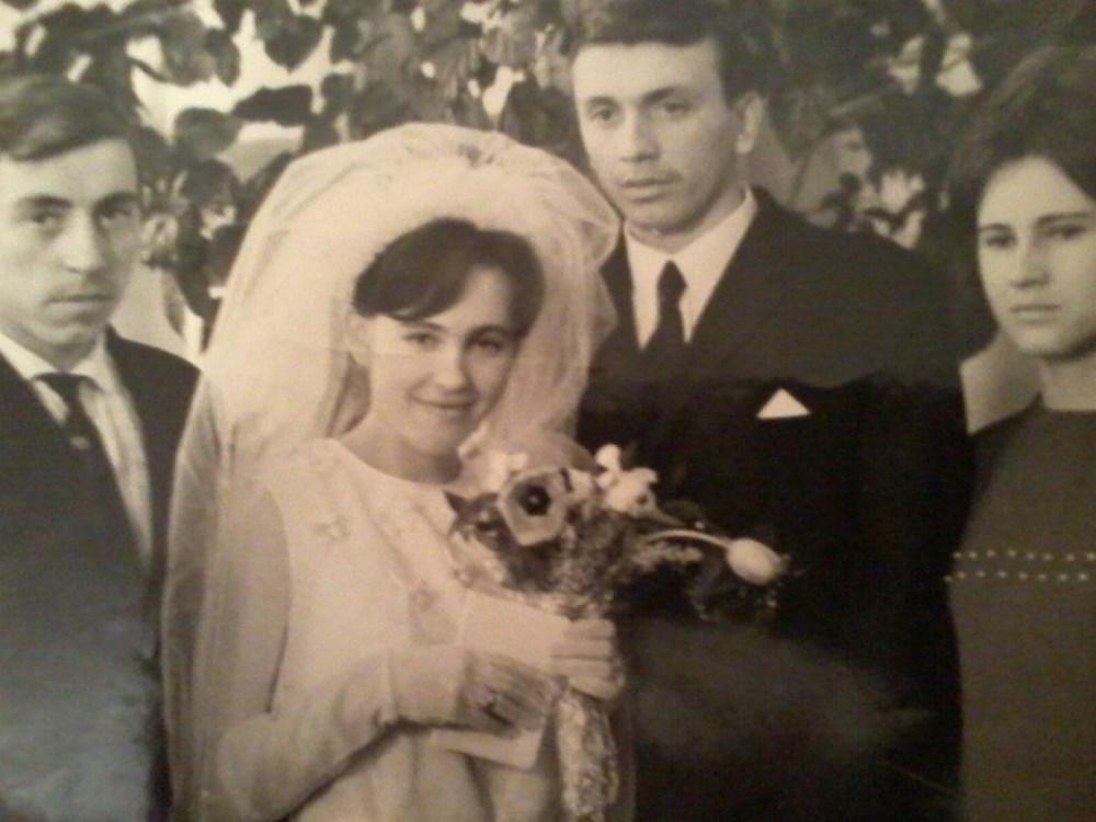 В день бракосочетания Людмилы и Владимира, 1969 год