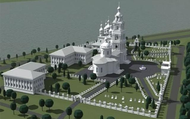 Проект восстановления Костромского кремля.
