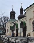 Свято-Троицкий Ионинский монастырь, Киев, февраль 2014 г.
