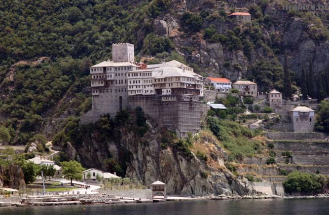 Афонский монастырь Дионисиат
