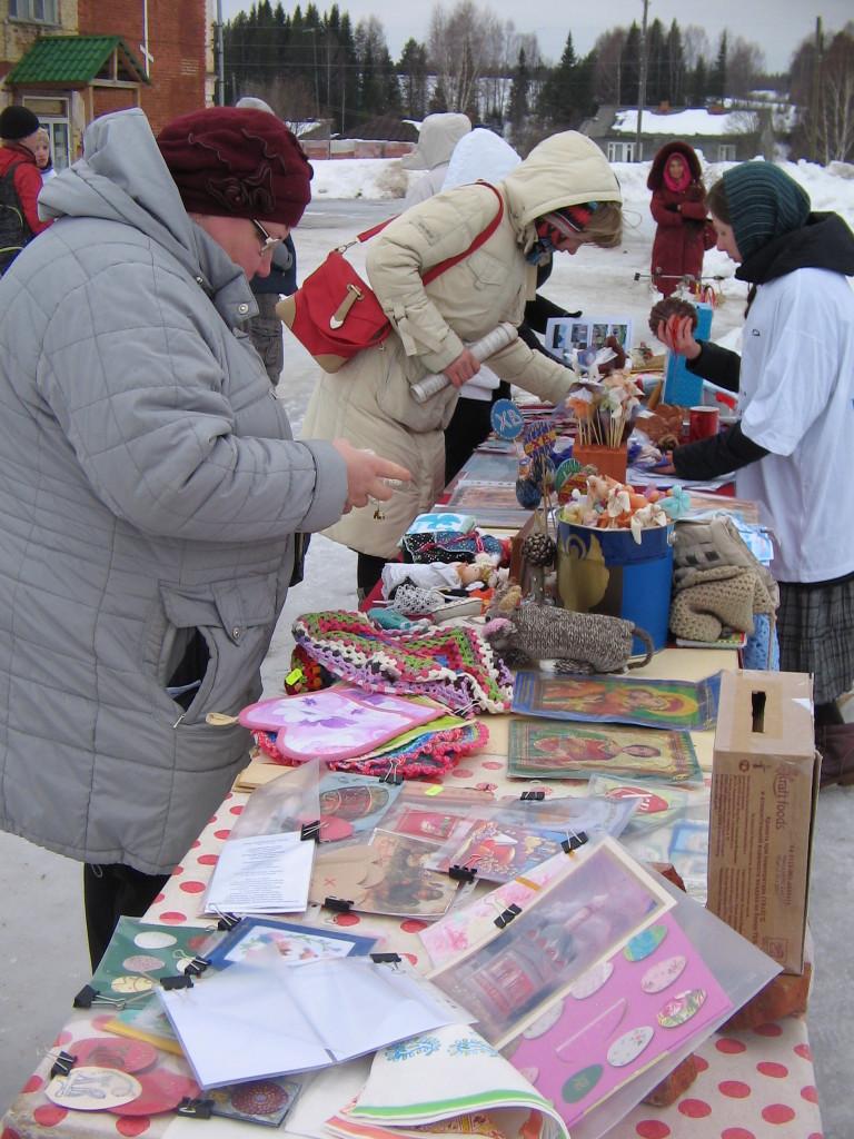 Все сделанное руками сестёр можно приобрести на память за минимальное пожертвование