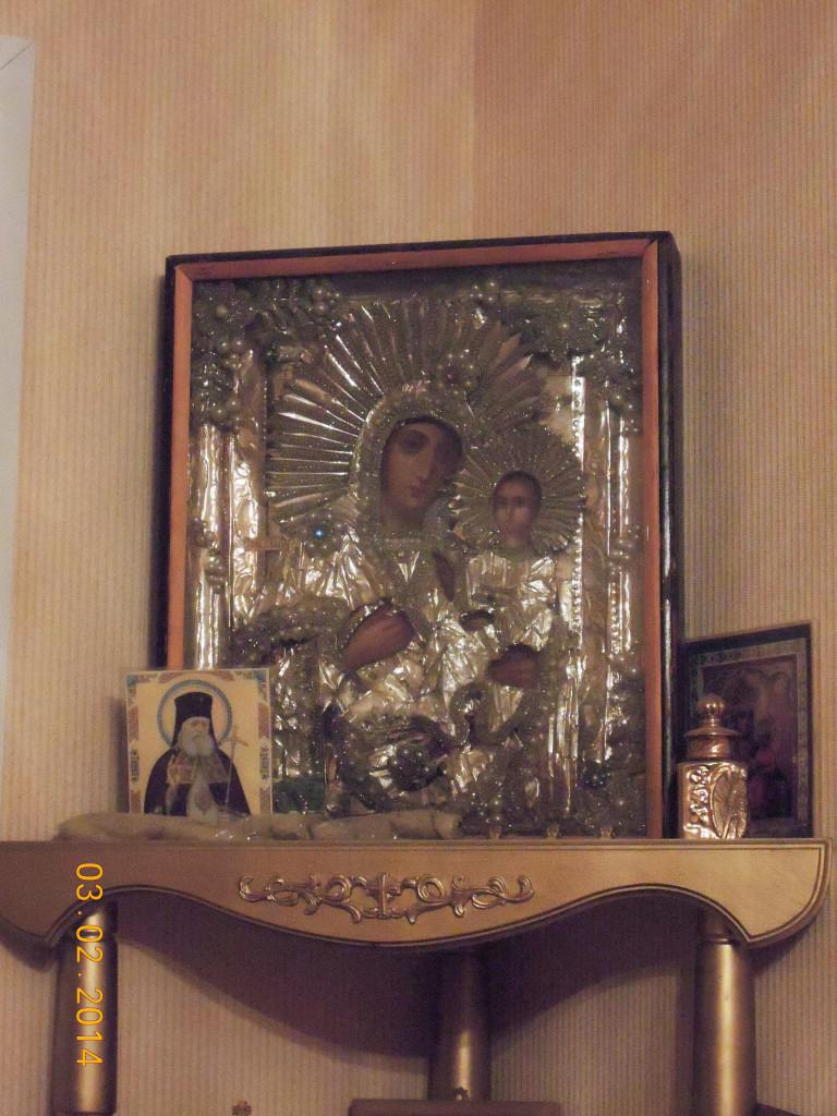 Иконы котор Александра подарила семье отца Георгия Осипова в Белозерске2