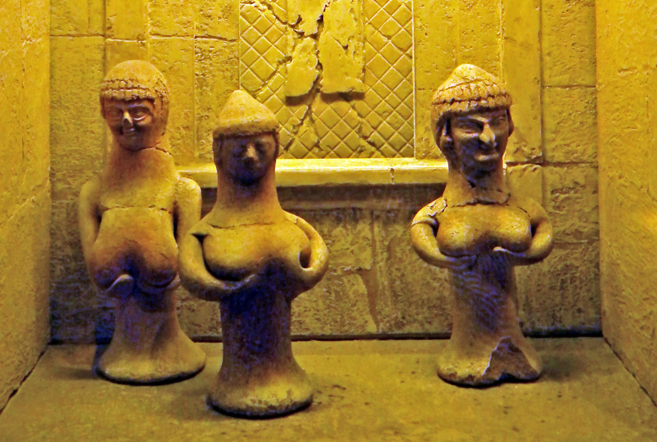 5.Терракотовые статуэтки Астарты из Израиля 1000-600 л. до н.э