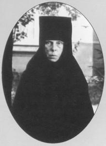 Монахиня Анастасия Платонова