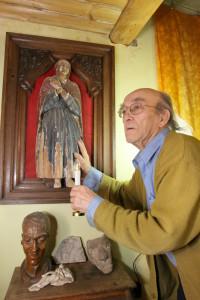 М. Д. Игнатов с золотым ангелом