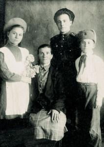 Семья Захарченко