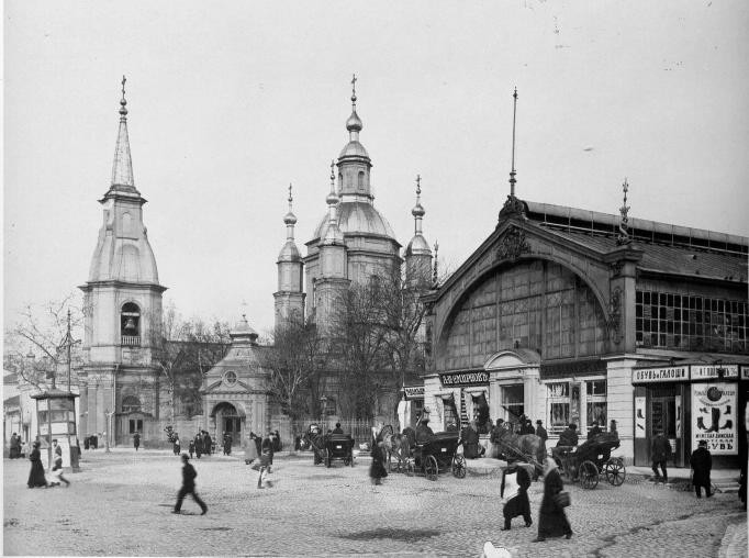 Фото К. Буллы. 1913 г. Андреевский собор на Васильевском острове