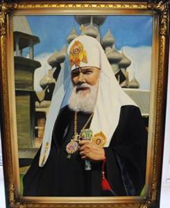 Заключенный написал портрет патриарха Алексия II