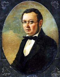 Портрет П. П. Ершова, найденный Т. П. Савченковой в фондах Российской национальной библиотеки