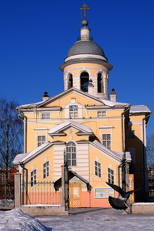 Кафедральный собор Рождества Богородицы в Вологде. 2015 г.