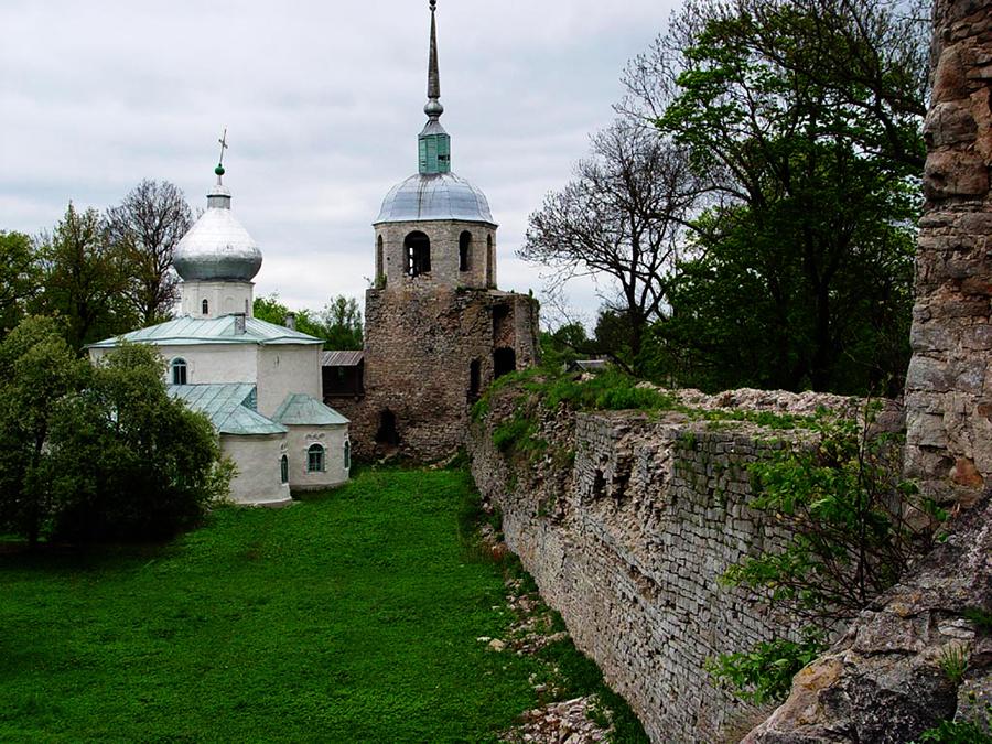Крепость в Порхове