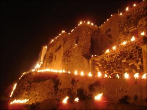 Великая пятница в г.Пиргос на о.Санторини