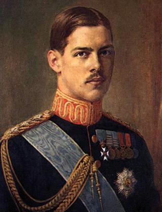 Александр Первый, король Греции. 1920