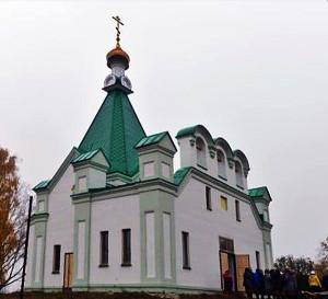 Храм в Бураново