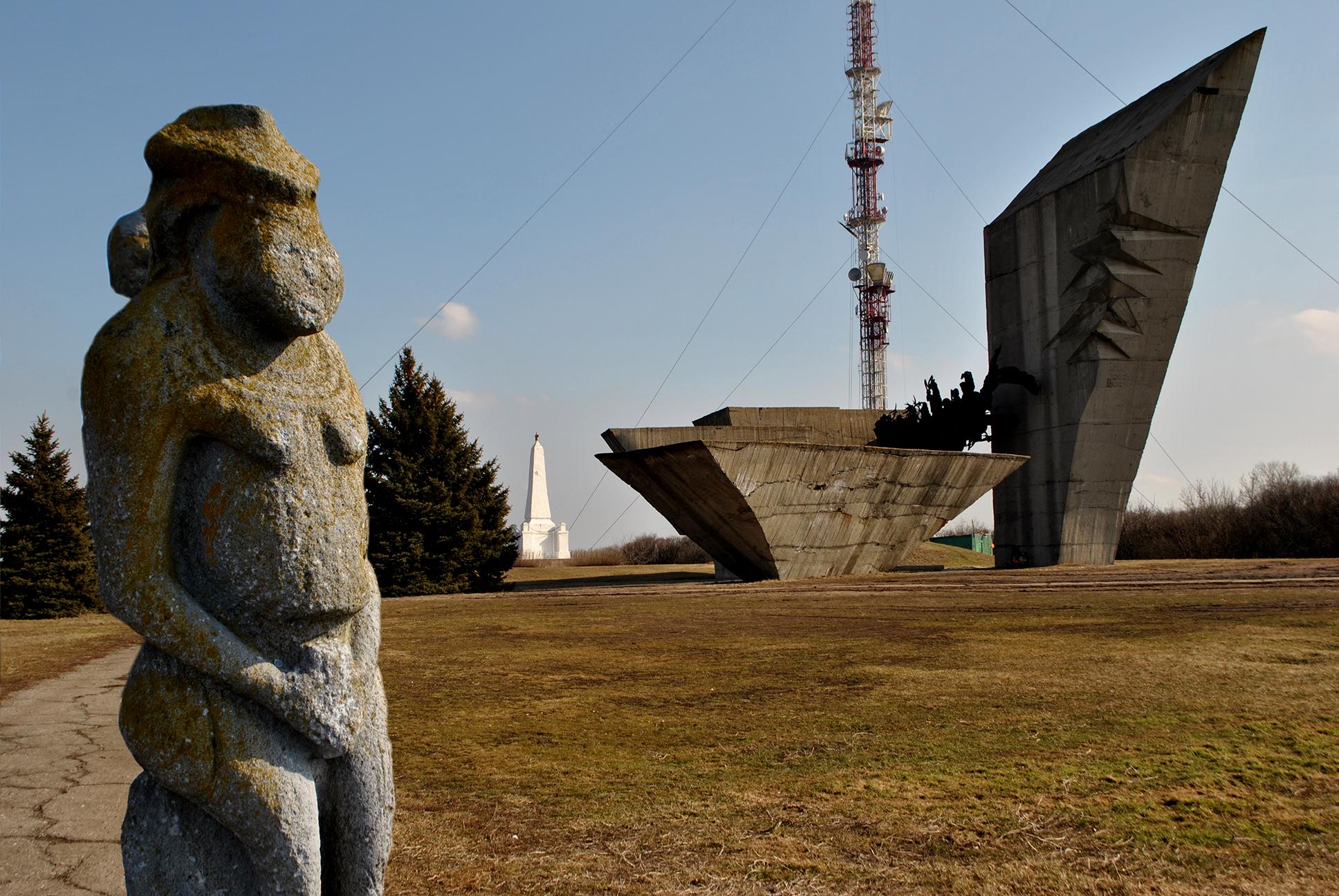 Мемориал на горе Кременец