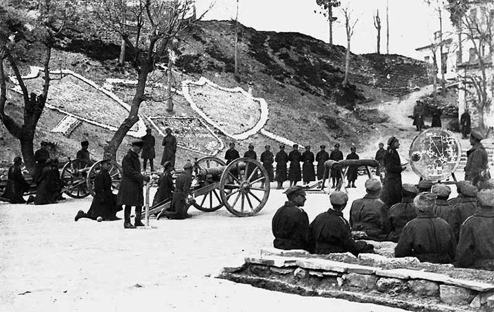 Офицерская артиллерийская школа в Галлиополи