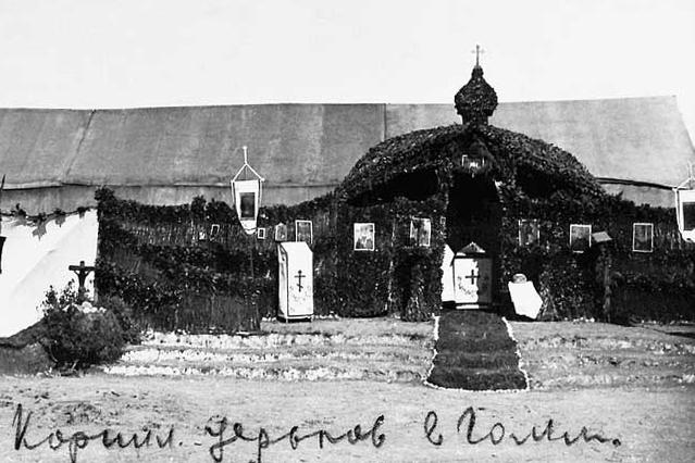 Походная Спасо-Преображенская церковь в Галлиополи