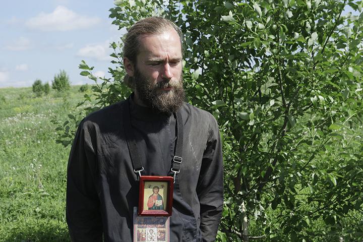 Паломник из Москвы Сергей Азаренко