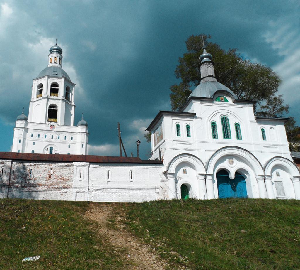 подъём в Ульяновский монастырь