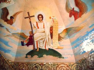 росписи храма, выполненные при о.А