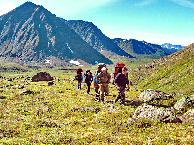 13. Подъём на перевал Зигзаг