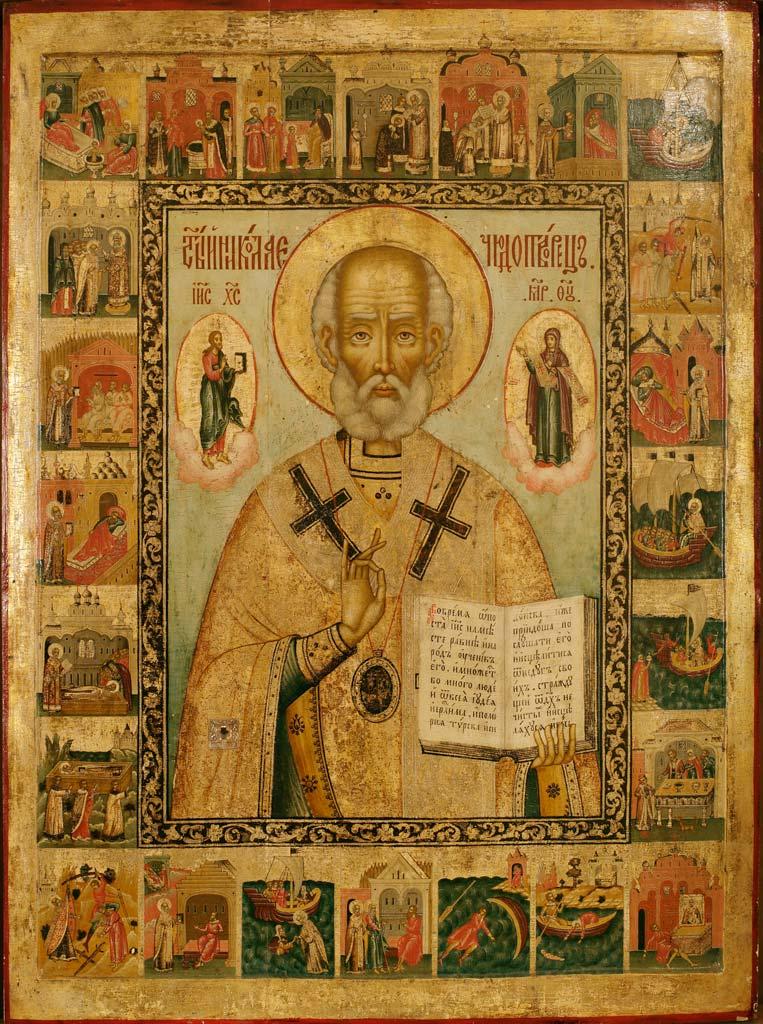 Икона-свт.Николая-из-Покровского-храма Святогорской лавры