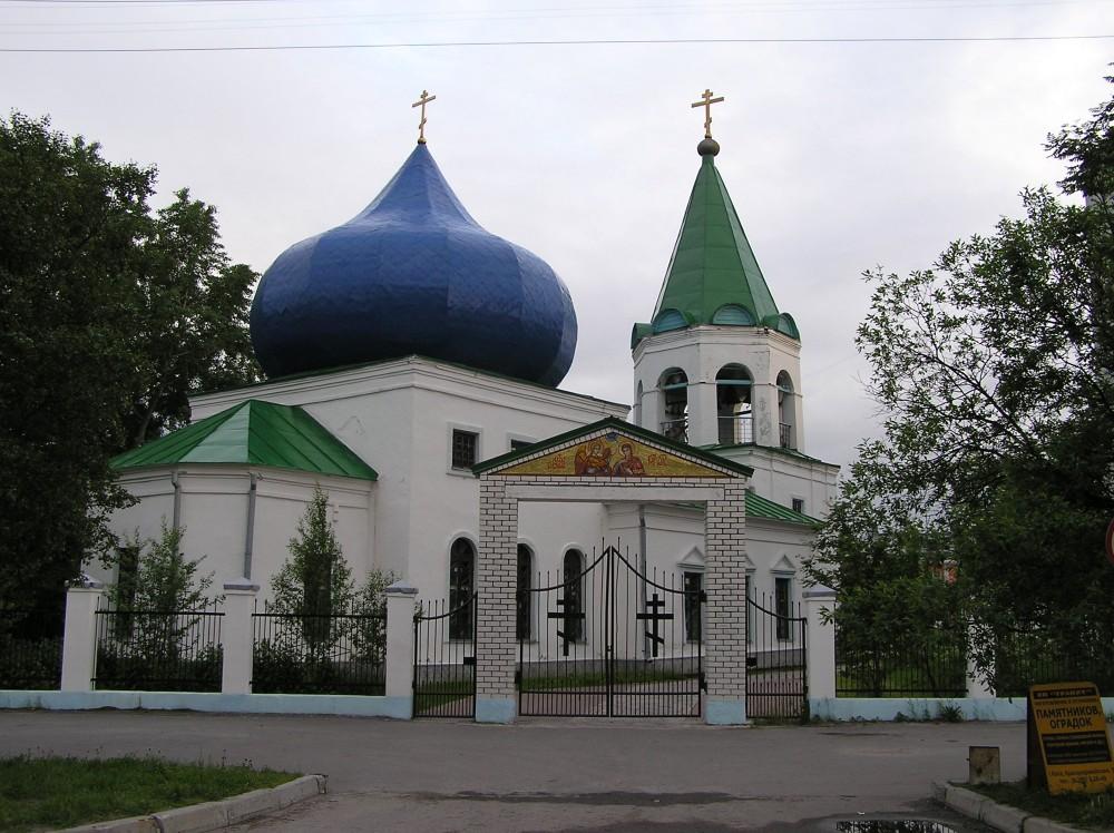 Благовещенский храм в городе Кола