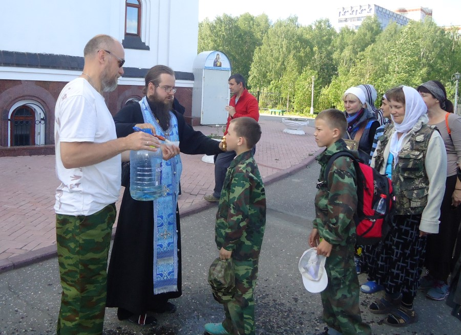 Помолились, отправляясь из Сыктывкара