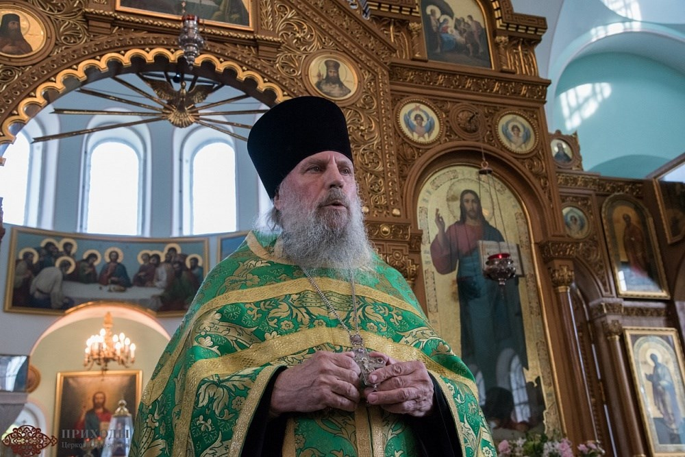 Протоиерей Николай Беляев. Фото С. Петрова