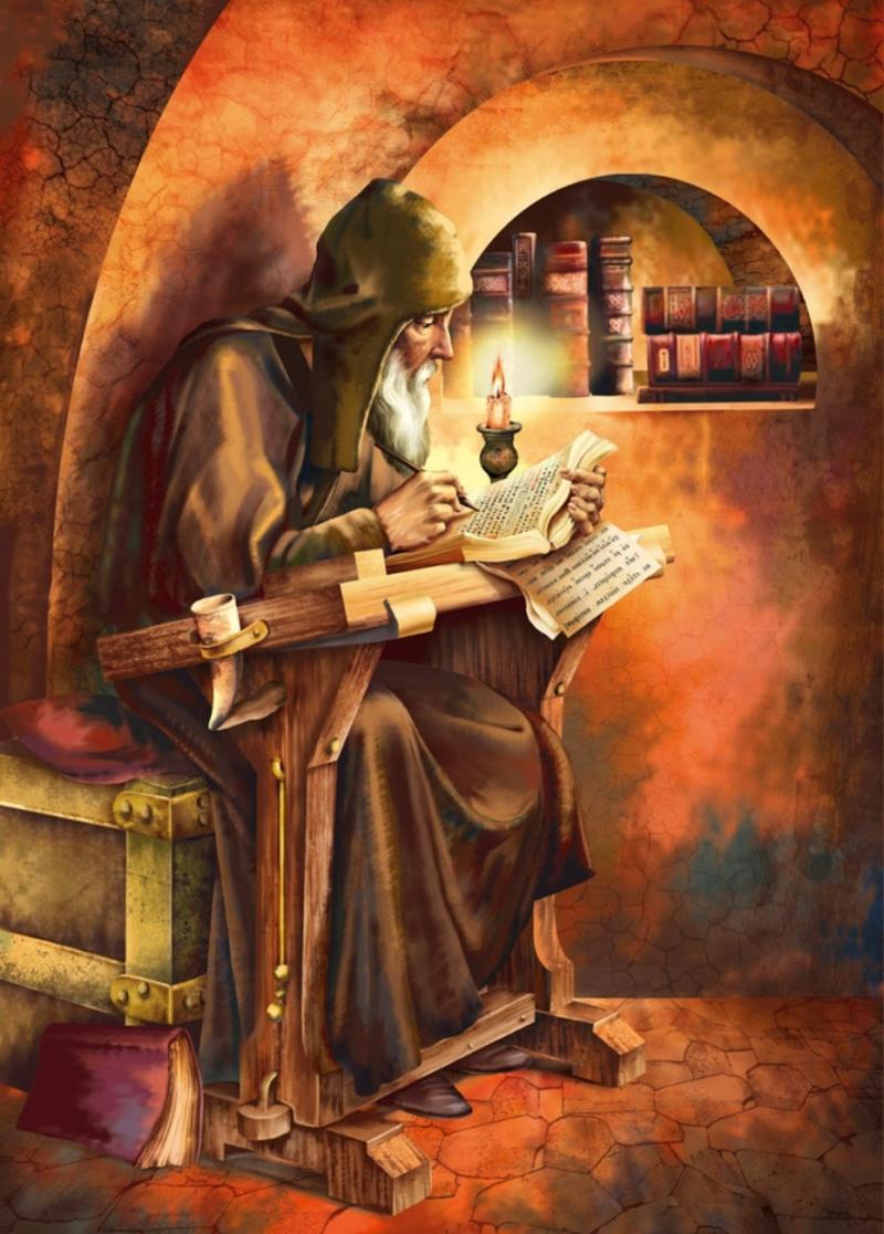 Летописец Нестор всю жизнь, начиная с 17-ти лет, посвятил монашескому служению