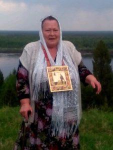 Нина Николаевна Жданова. Подъём на гору в Карыбйыве