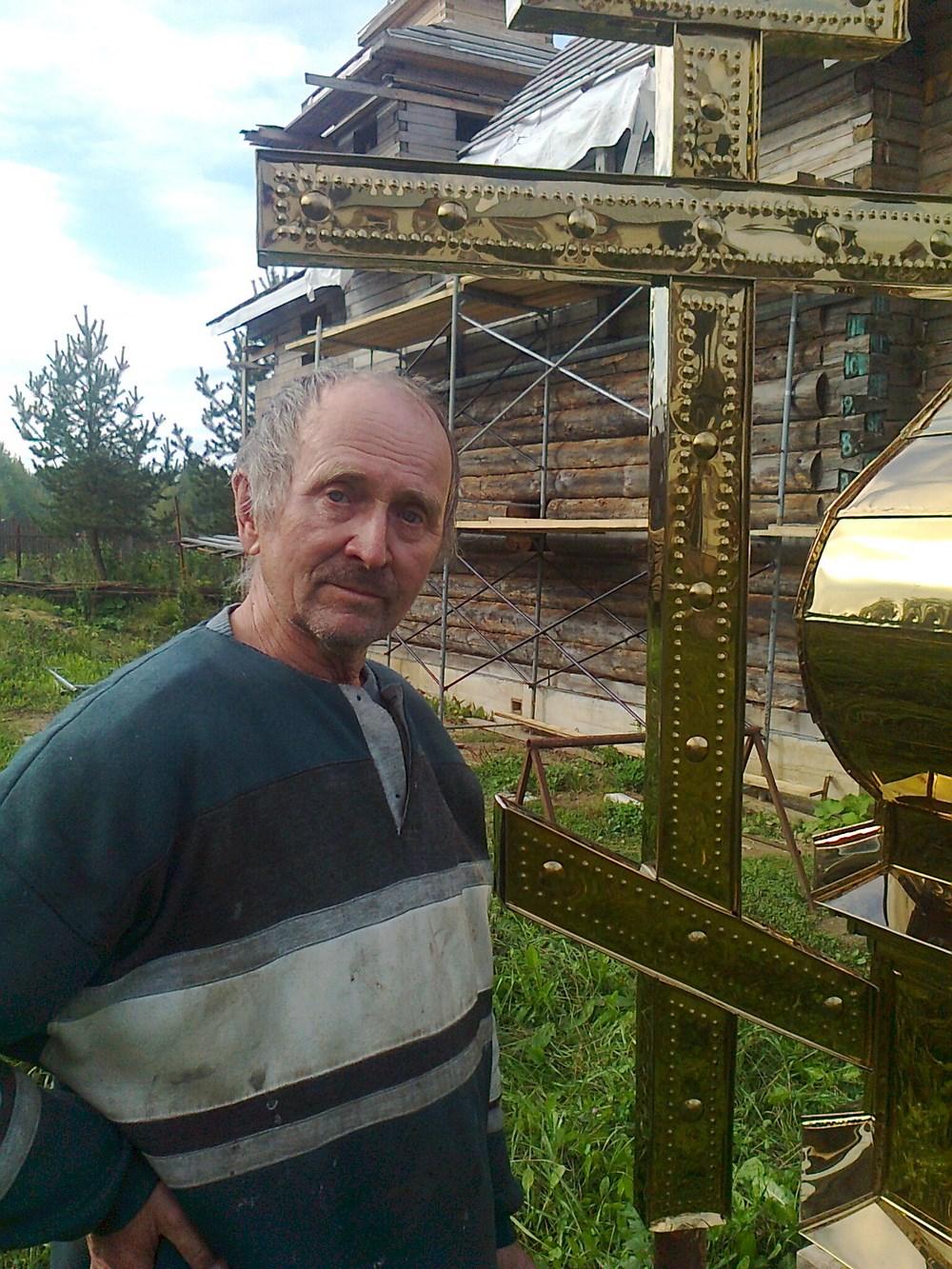 Василий Карманов, помощник в возрождении храмов в Визябоже