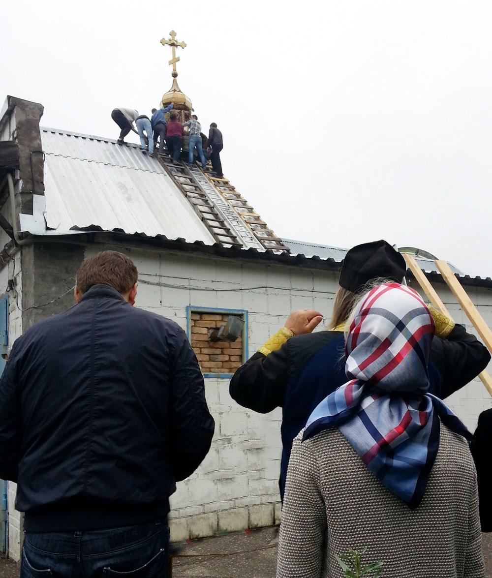 храм Свт. Игнатия, где прежде располагалась трапезная детского православного лагеря