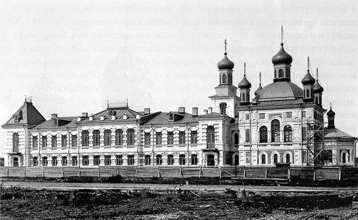 Булычёвская богадельня в Архангельске