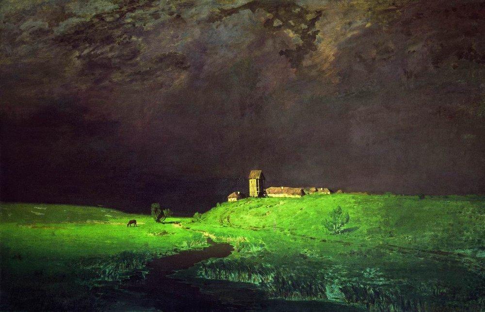«После дождя», 1879 г.