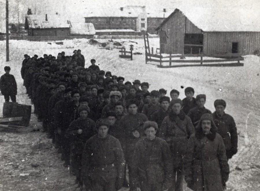 Старорусские партизаны