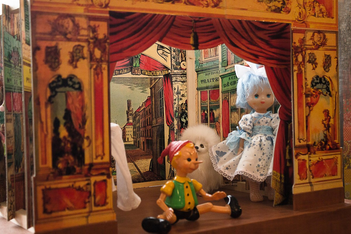 Миниатюрный кукольный театр