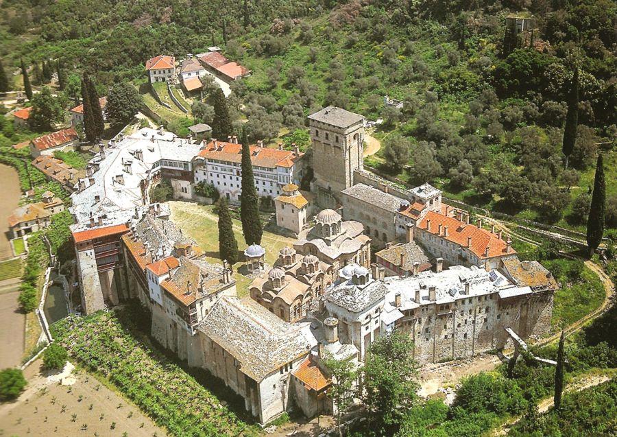 Сербский монастырь Хиландарь